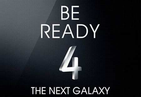 Samsung nos invita al 14 de marzo para desvelar su Galaxy S4