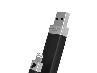 ¿Sin memoria en tu iPhone o iPad? Por 68 euros aumenta su capacidad en 64GB con esta Leef iBridge