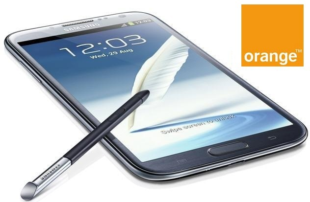 Todos los precios del Samsung Galaxy Note 2 con Orange