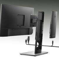 Dell mete todos los componentes de este sorprendente PC Todo-en-uno modular en la peana del monitor
