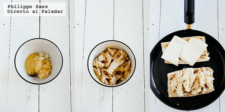 Baguette Pavo Dijon Receta