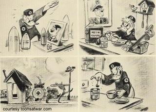 Disney y alguno de sus trabajos durante la segunda guerra mundial