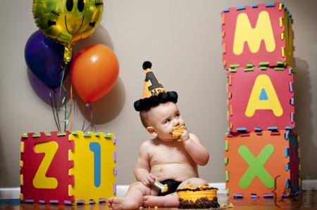 Smash Cake cumpleaños bebé