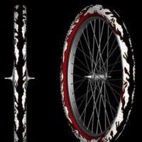Cubierta reflectante para ciclistas nocturnos