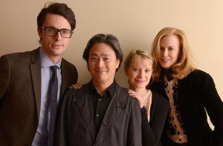 Matthew Goode, Park Chan-Wook, Mia Wasikowska y Nicole Kidman en Sundance