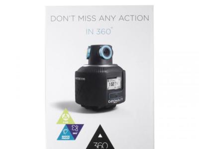 Llega la primera cámara deportiva 360º: Geonaute 360