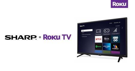 Sharp también le pone Roku a sus nuevos smart tv en México, estos son los modelos que venderán