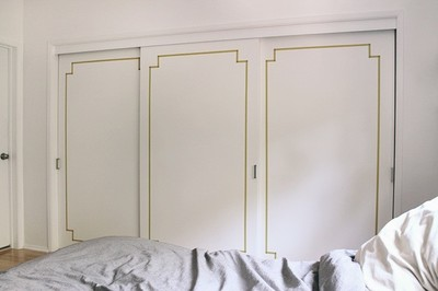 Hazlo tú mismo: decora las puertas de tu armario con washi tape