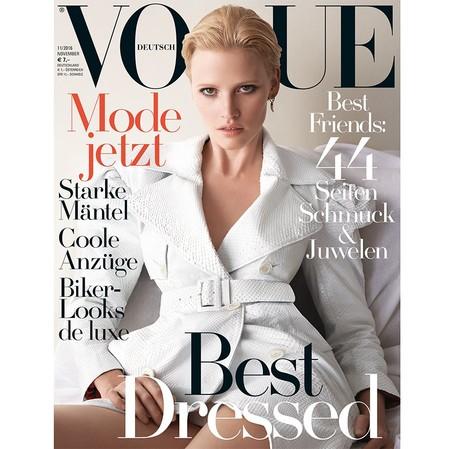 Vogue Alemania: Lara Stone