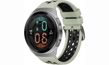 Hasta 85 entrenamientos diferentes y batería para dos semana: el Huawei Watch GT 2e Active sólo cuesta 103 euros en Amazon