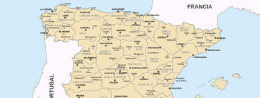 La absurda racionalidad del mapa de España que Napoléon se inventó en 1810