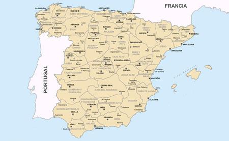 Mapa Provincial De España.La Absurda Racionalidad Del Mapa De Espana Que Napoleon Se