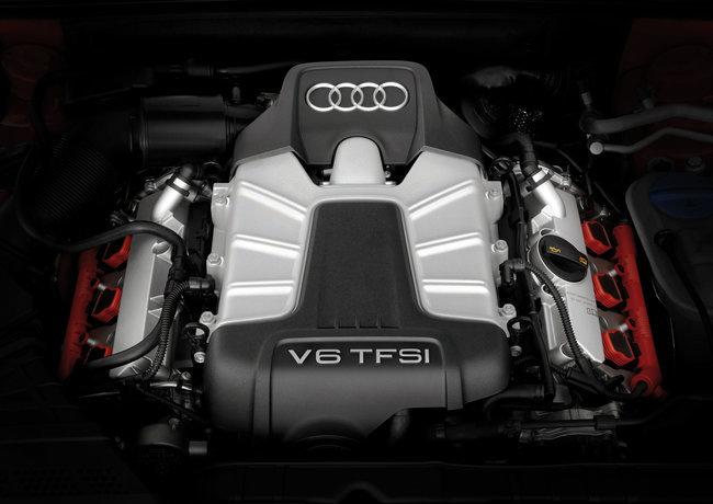 Motor V6 TFSI de Audi