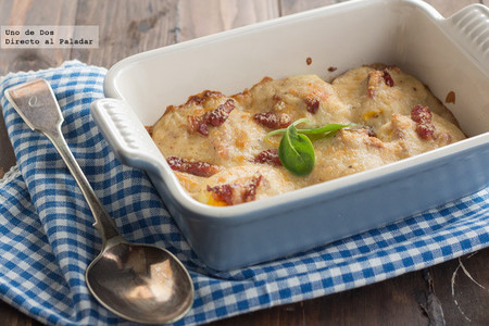 Huevos con bechamel, receta para reconfortar cuerpo y alma