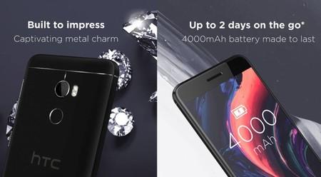 Más detalles del HTC One X10 aparecen, su batería será de 4,000 mAh