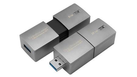 ¿Querías capacidad? Kingston presenta la memoria USB con mayor capacidad en el mundo: 2TB