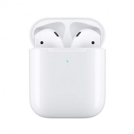 Apple AirPods V2 con Estuche de Carga Inalámbrica