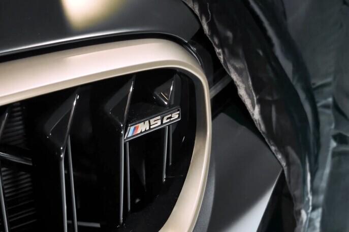 BMW M5 CS 2021: fibra de carbono, menos peso, más de 630 hp y rines dorados como todo buen CS