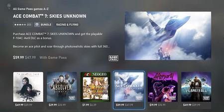 La nueva Xbox Store de Xbox One y Xbox Series X muestra varias de las mejoras de interfaz que le pedíamos a la nueva generación