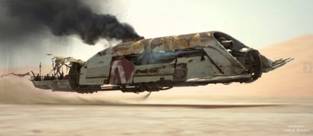 Star Wars E Vii Bocetos 8