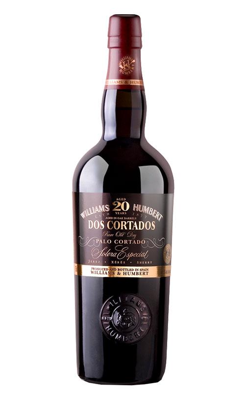 Palo Cortado Dos Cortados Solera Especial 20 Años. Bodega Williams & Humbert