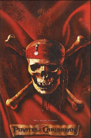 Primer poster de 'Piratas del Caribe 3'