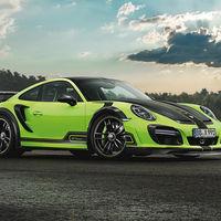 Techart 911 Turbo GTstreet R: un gigante verde de hasta 720 CV