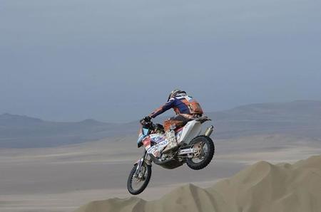 Pierre Etapa9 Dakar2015