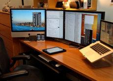 Dos pantallas o una de gran tamaño, ¿qué es mejor para la productividad?