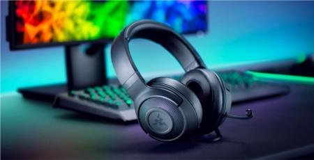Razer estrena auricular gaming, es el Kraken X y llega con sonido 7.1 virtual por menos de 50 dólares