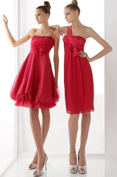Elige un vestido rojo para ir de boda