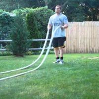 22 ejercicios para realizar con Battle Ropes y trabajar todos los músculos del cuerpo