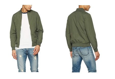 Por sólo 19,99 euros tenemos esta chaqueta bomber Jack & Jones Jornew Pacific Bomber a la venta en Amazon