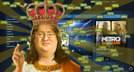 Steam Gabe Sales