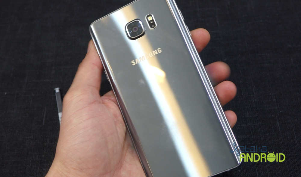 Foto de Samsung Galaxy Note 5 y Galaxy S6 edge+ (7/18)