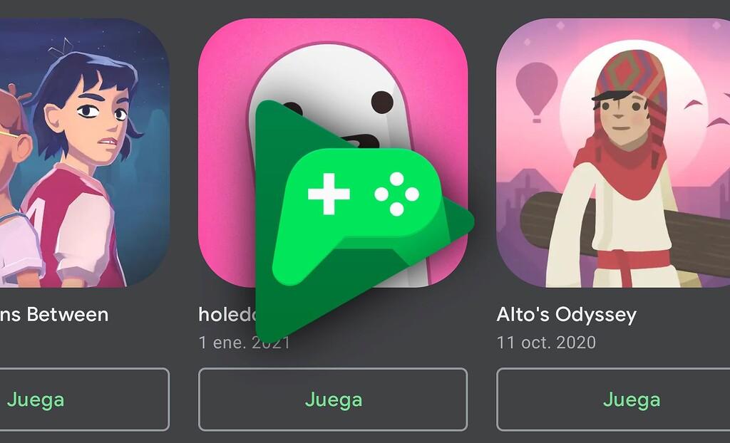 Google Play Juegos prueba una carpeta en el escritorio para lanzar las apps rápidamente