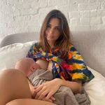 """""""Si parece que siempre estoy amamantando es porque lo estoy"""", el sincero mensaje de Emily Ratajkowski sobre la lactancia"""