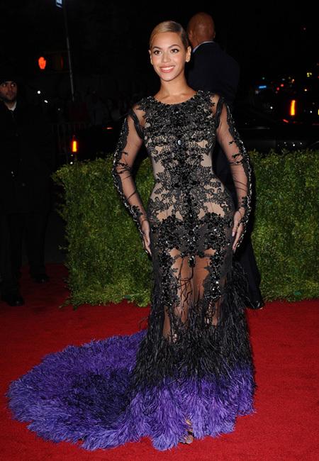 Beyonce MET 2012