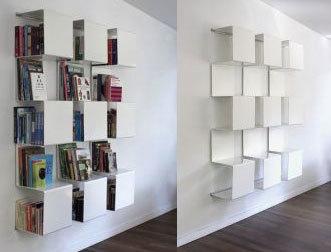 Anne Linde: Una librería muy grande en poco espacio