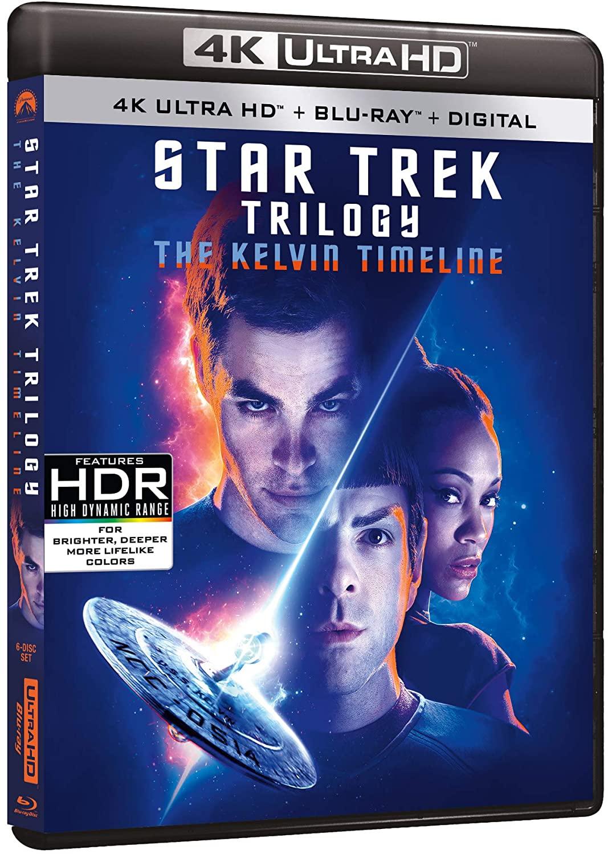 Star Trek Trilogy Collection en Blu-ray 4K