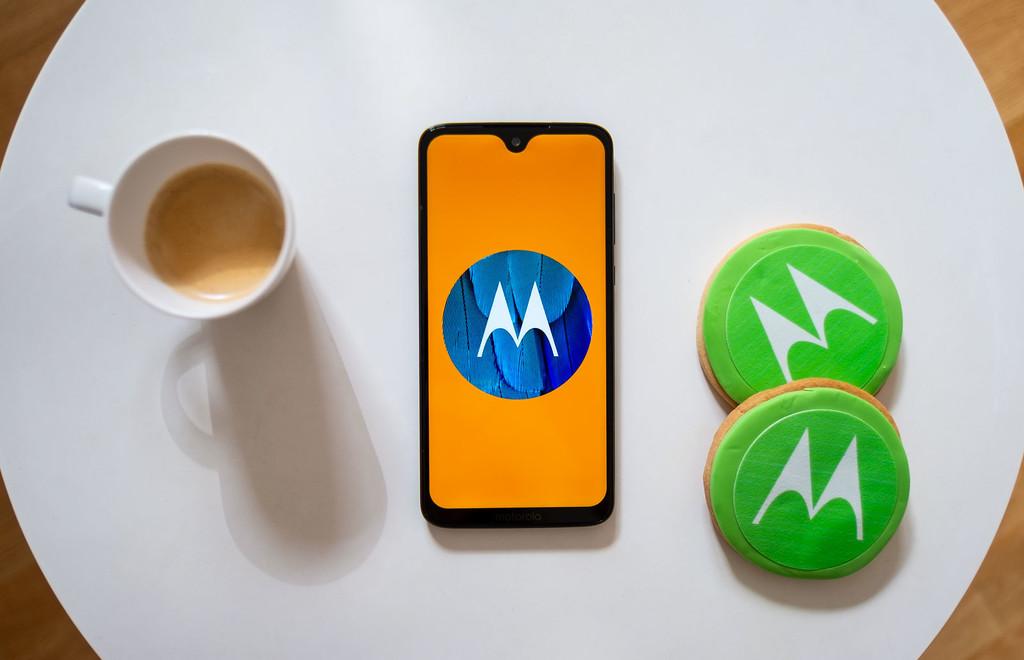 El Motorola® Moto G7 Plus empieza a actualizarse a Android-OS 10