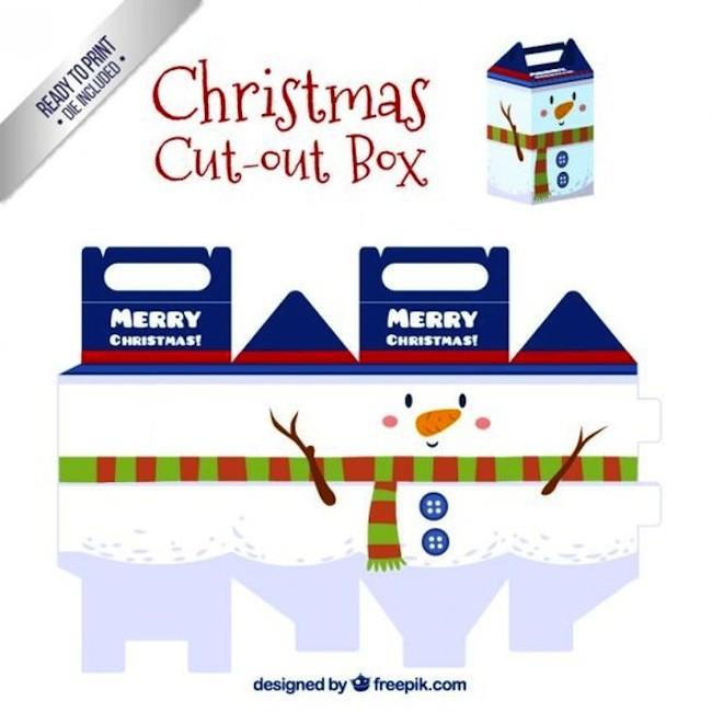 Imprimibles Navidad 4caja