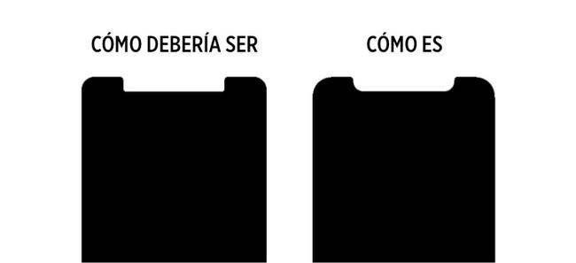 esquinas iPhone X