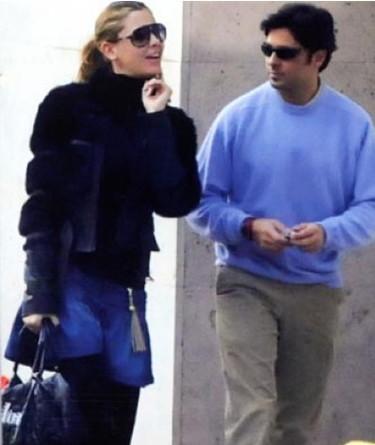 Fran Rivera y Elisabeth Reyes muy juntitos