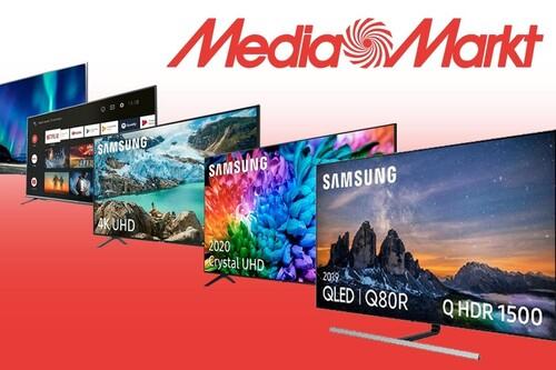 Estas 24 smart TVs de LG, Samsung, Sony y Xiaomi llevan descuentos directos de hasta 520 euros con la campaña Renove de MediaMarkt