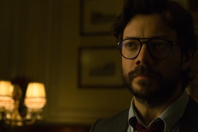 """""""La temporada 4 de 'La casa de papel' baja al Profesor a los infiernos"""". Álvaro Morte"""