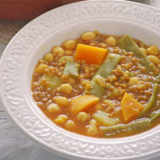 Guiso murciano de trigo y garbanzos: receta vegana de lo más tradicional