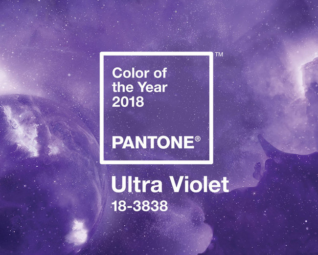 Pantone Color Of The Year 2018 Ultra Violet Banner Mobile
