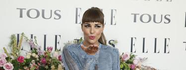 Paula Echevarría no escoge su mejor look de noche en la fiesta de Tous en homenaje a Emma Roberts. Pero hay más invitadas