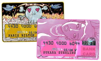 Personaliza tus tarjetas de crédito